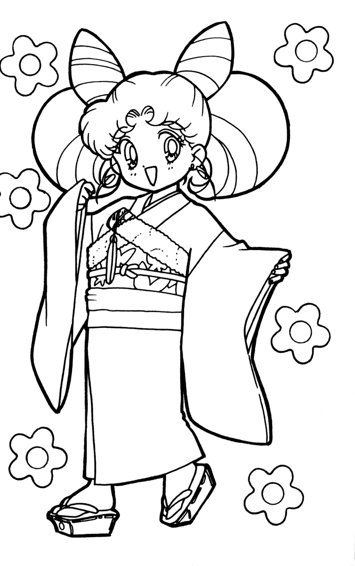 Image Result For Cute Sailor Moon Coloring Pages