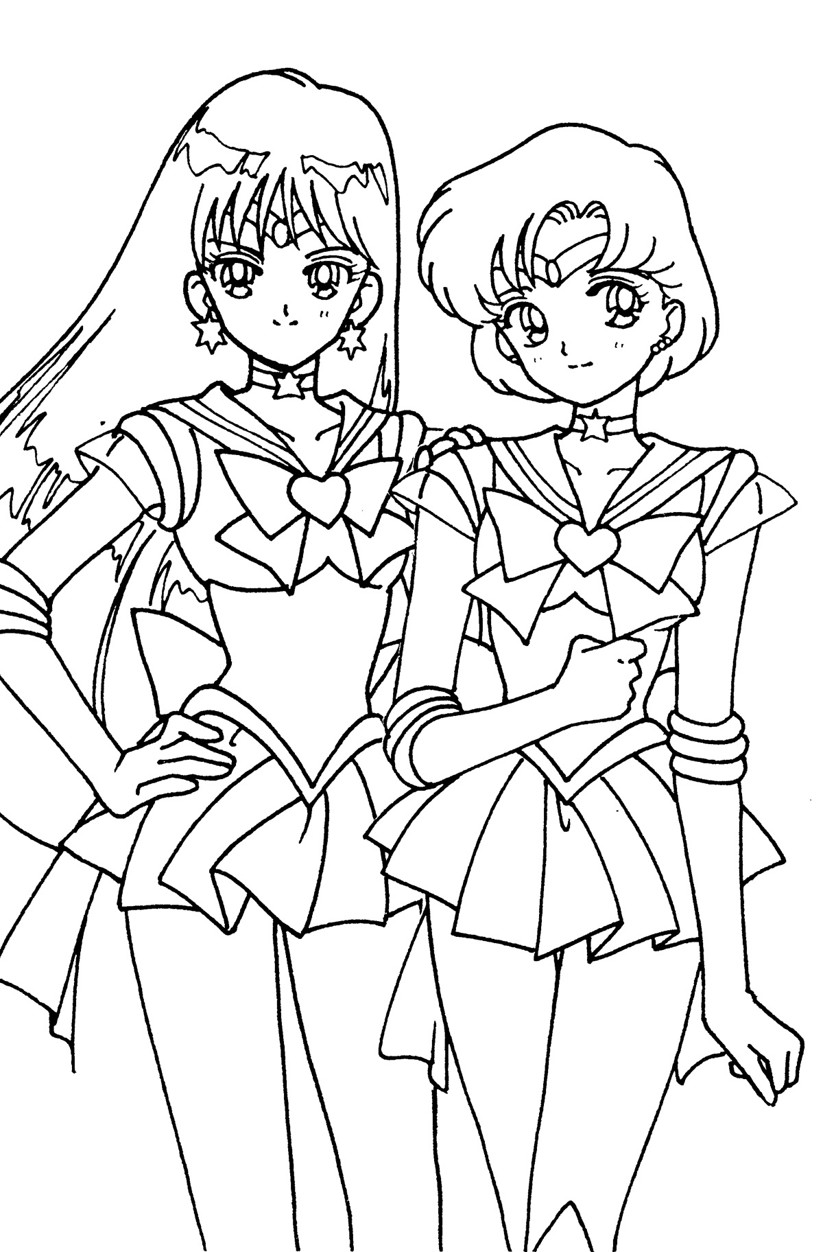 Sailor Mars Coloring Pages To Print - Bltidm