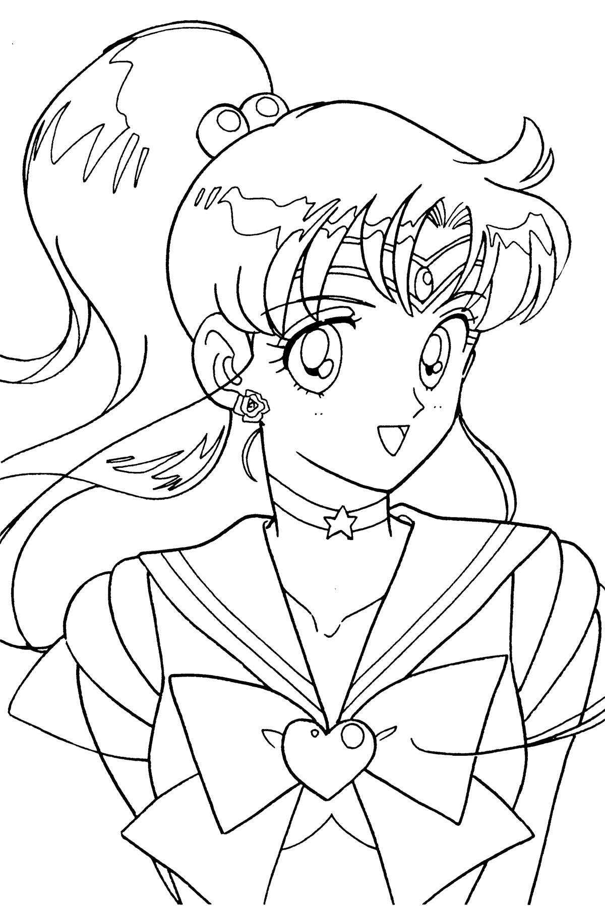 jupiter coloring pages - tsuki matsuri the sailormoon coloring book archive