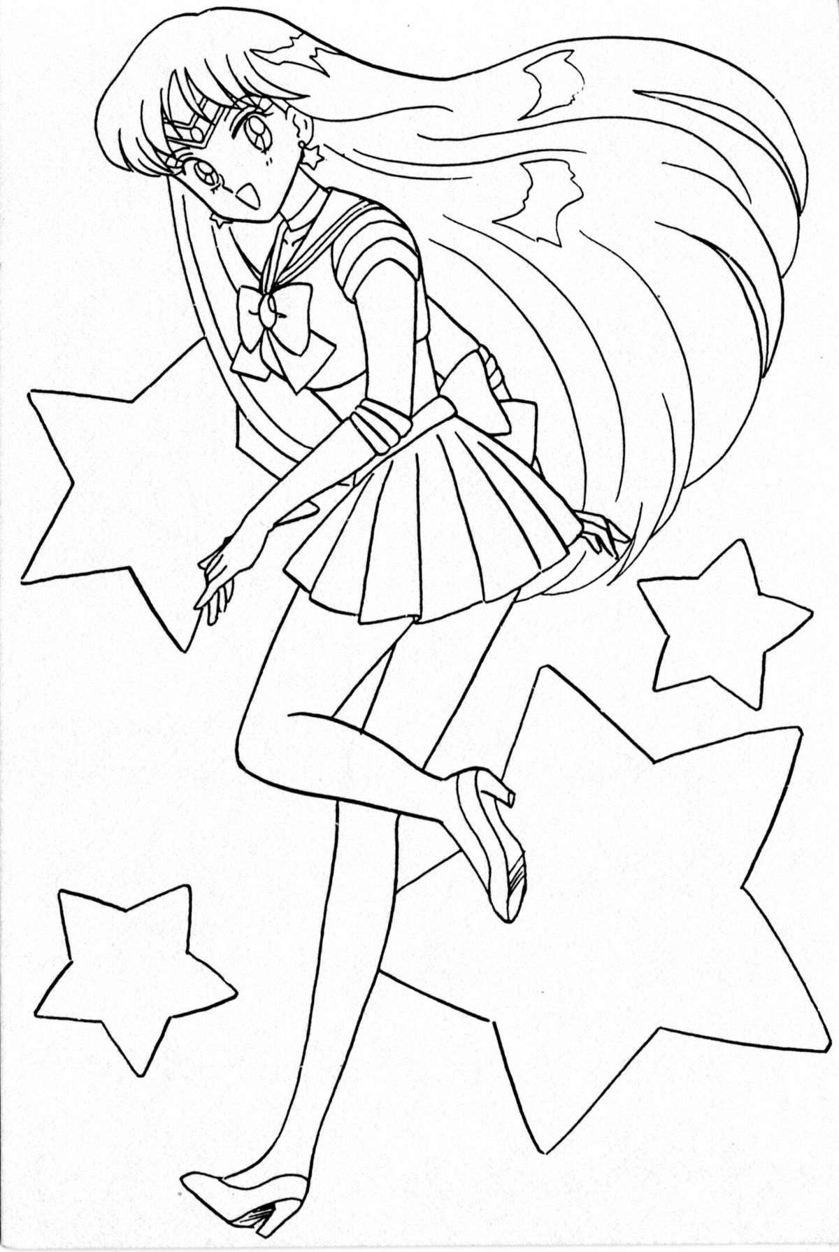 100 sailor mars coloring pages 89 best colorear sailor moon