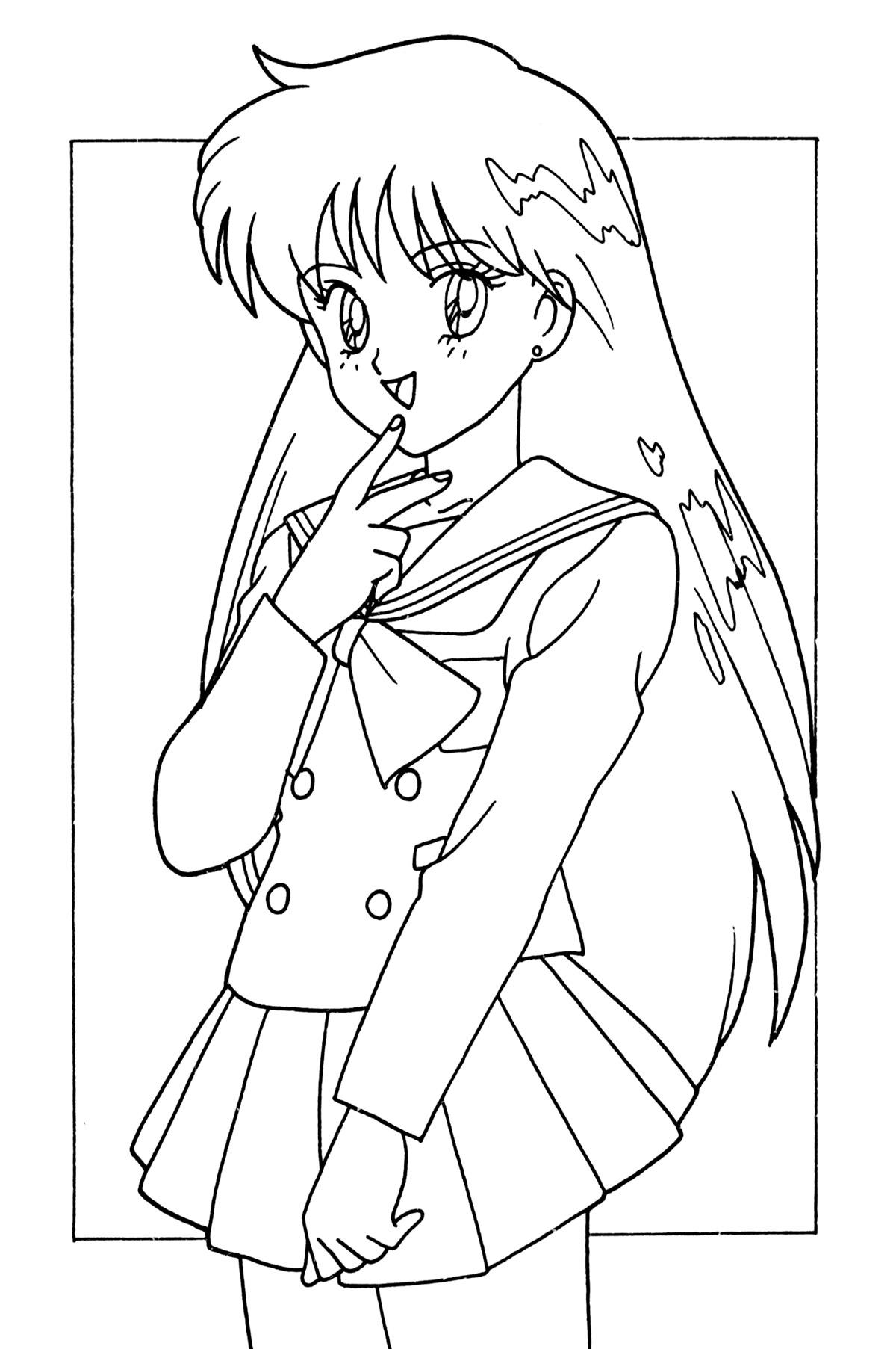 tsuki matsuri the sailormoon coloring book archive