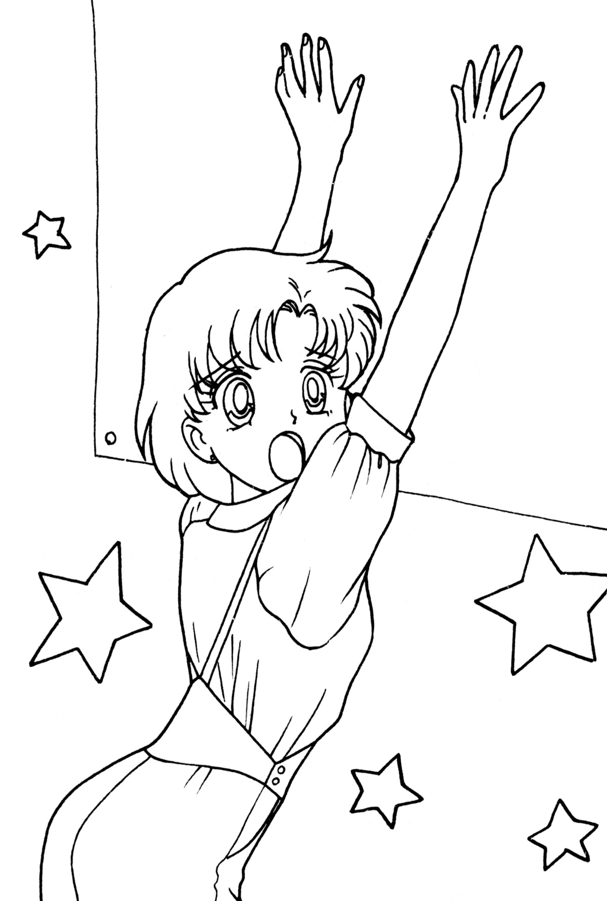 Coloring Pages Sailor Mercury Coloring Pages sailor mercury coloring pages fun color page moon coloringstar