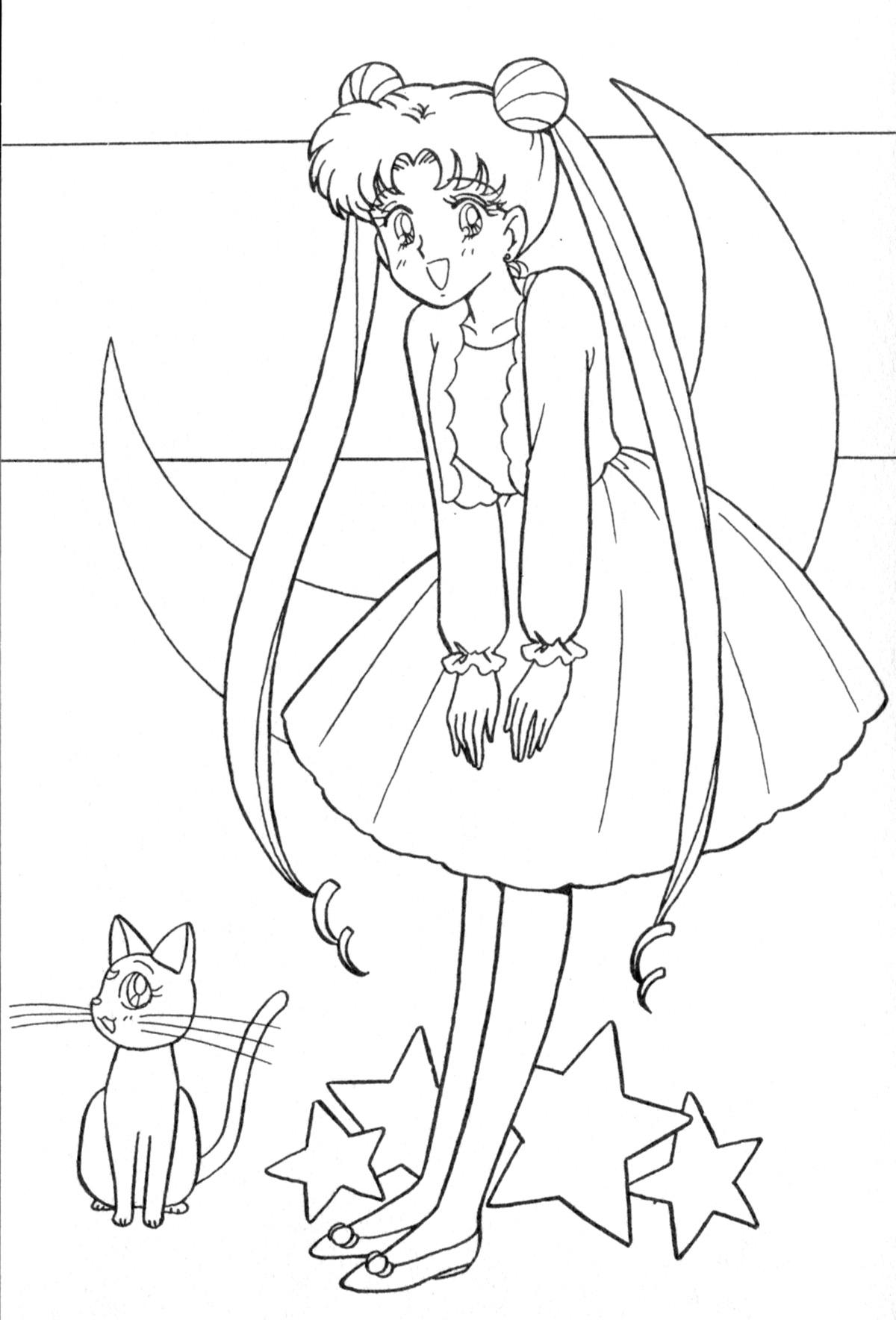 Charmant Sailor Moon Chibi Malvorlagen Fotos Malvorlagen Von
