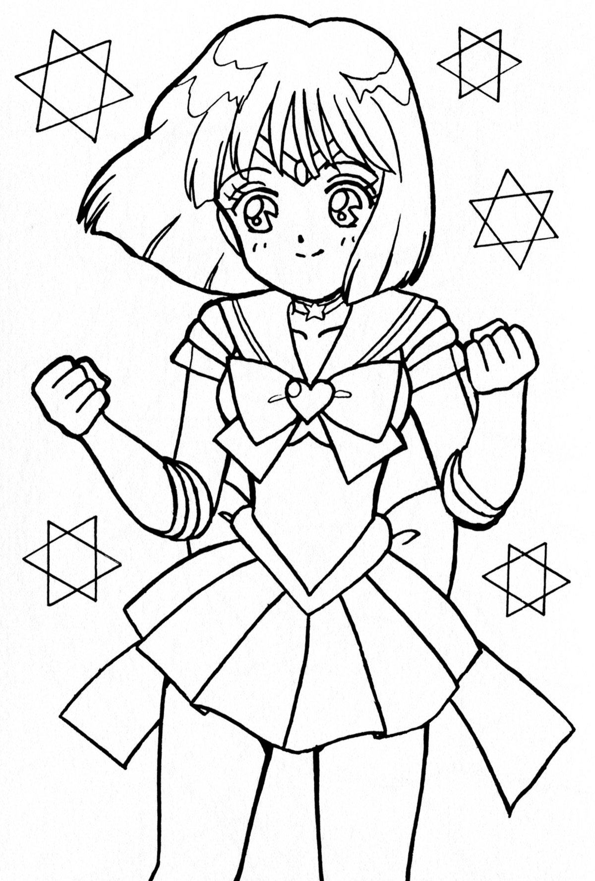 saturn002 jpg 1200 1775 lineart sailor moon pinterest sailor