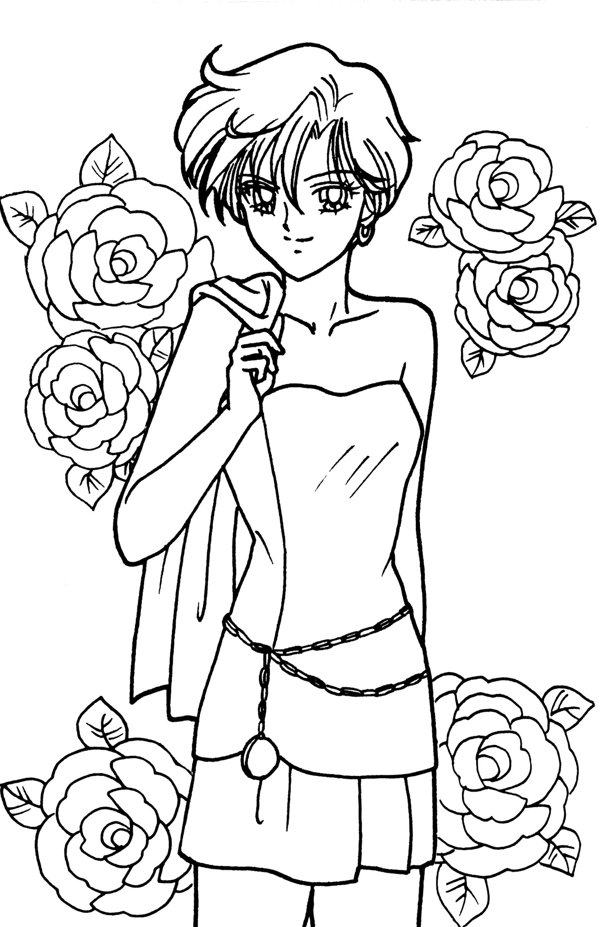 1000 images about sailor moon coloring book on pinterest for Sailor coloring pages