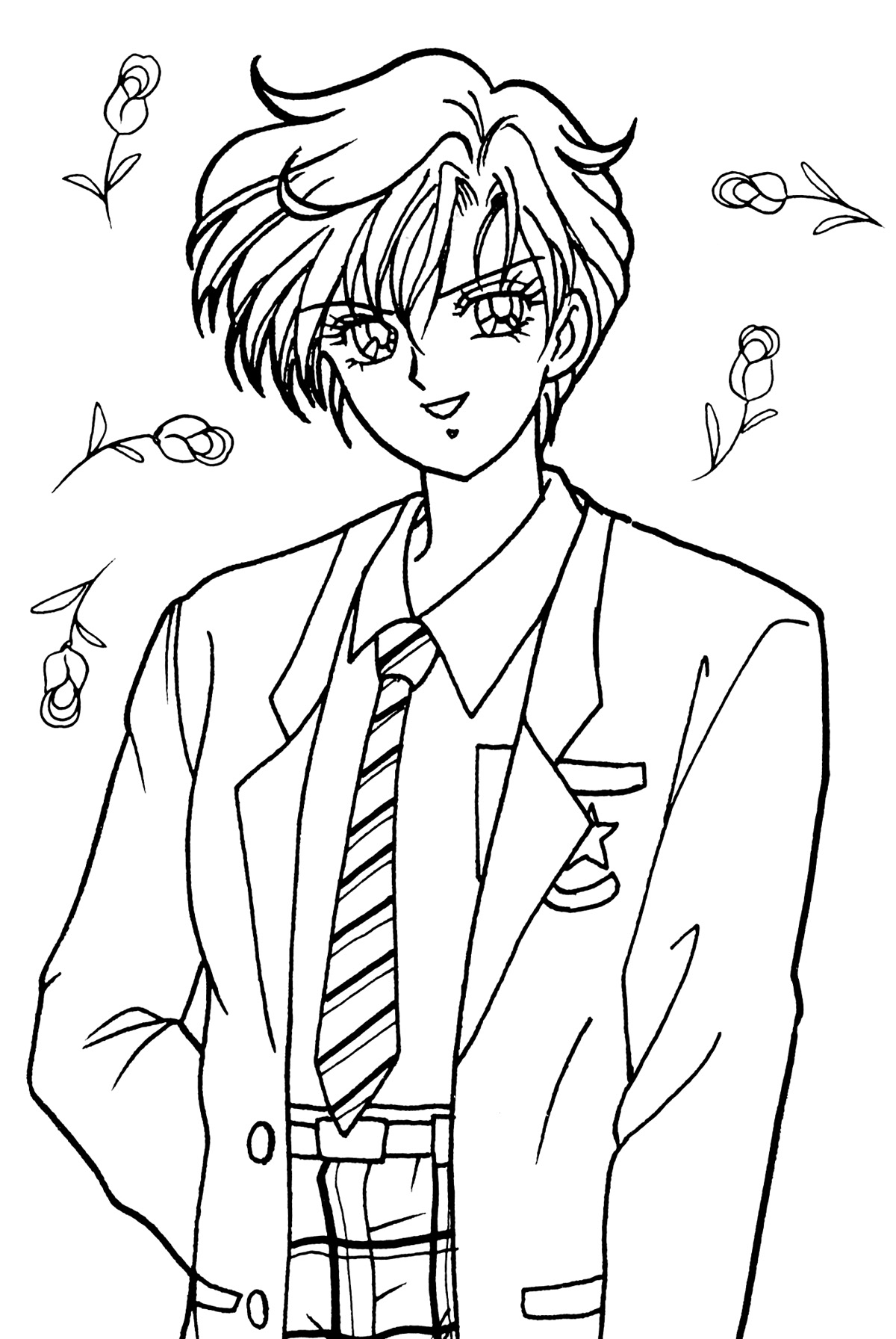 Uranus god free colouring pages for Uranus coloring page