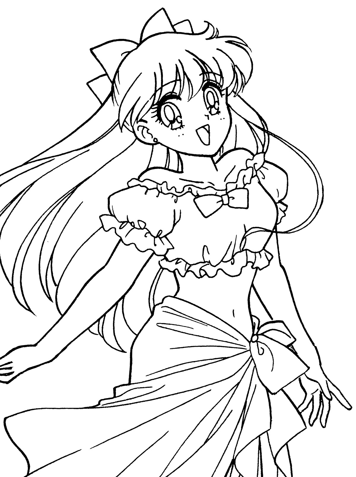Coloring Pages Sailor Venus Coloring Pages sailor venus coloring pages eassume com tsuki matsuri the sailormoon book archive