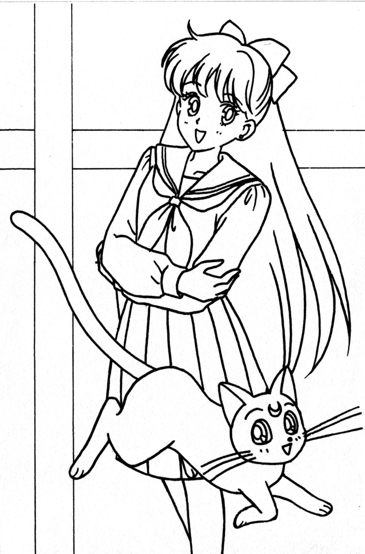 Coloring Pages Sailor Venus Coloring Pages sailor venus coloring pages eassume com posters mina